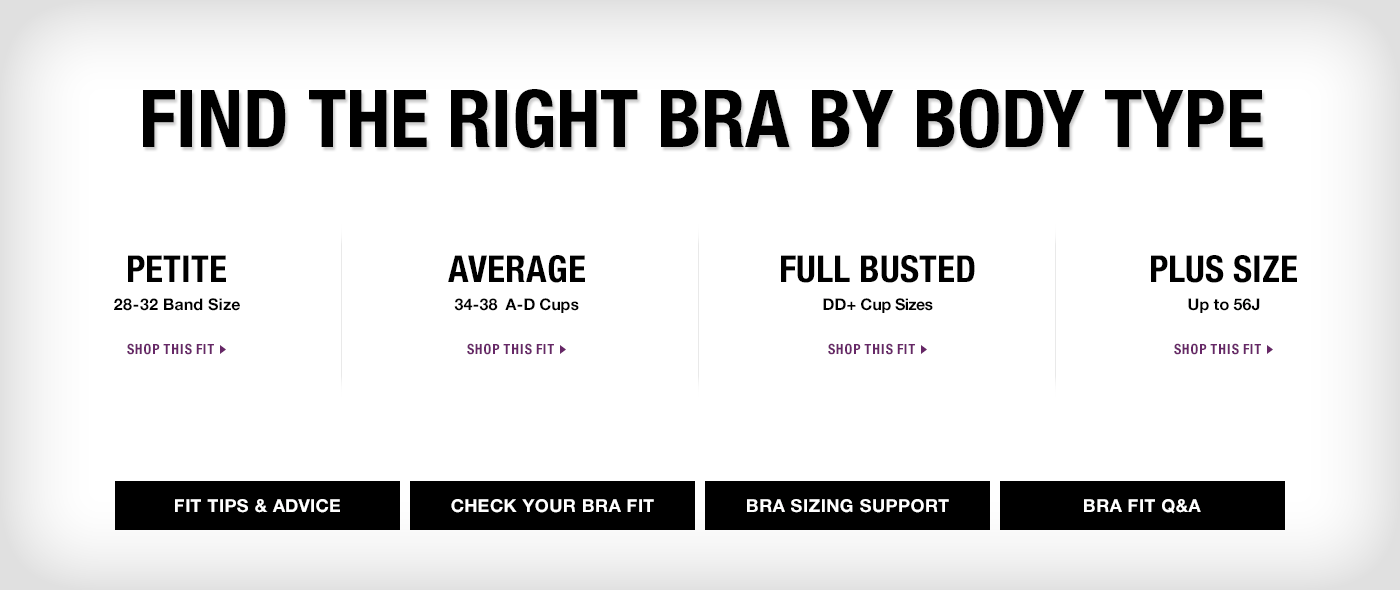 Bra by Body Type