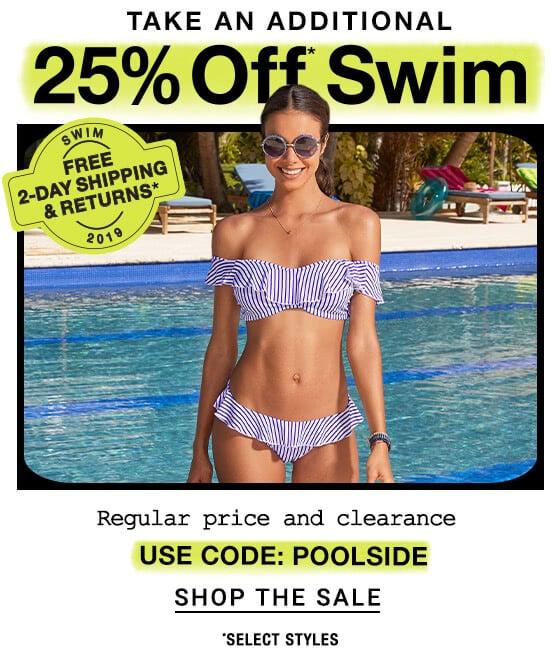 Swim 25% Off