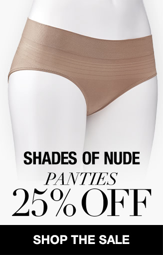 Shades of Nude 25% OFF Panties