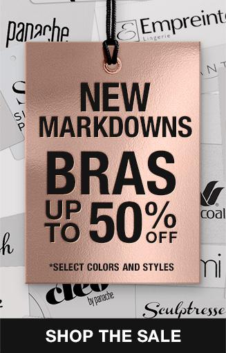 Shop Premium Bra Markdowns