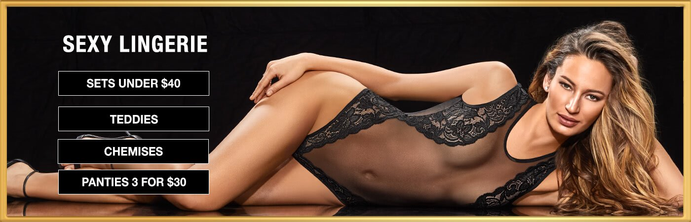 Shop sexy lingerie and sleepwear from Bare Necessities