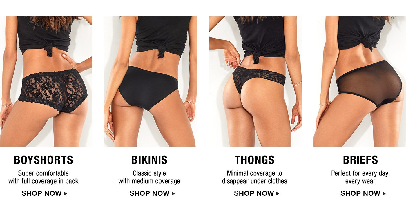 expert panty picks | bare necessities