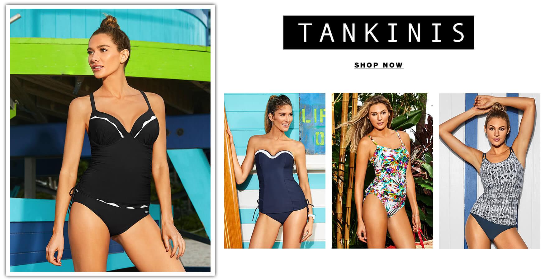 Shop Tankini Swimsuits