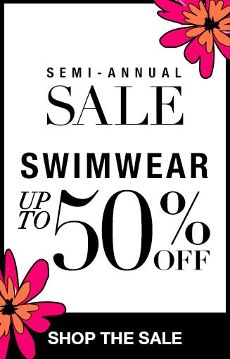 Shop Swimwear Up to 50% Off