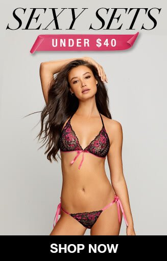 7a1ff2badf Sexy lingerie sets under  40