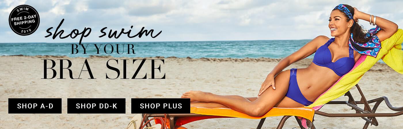Shop Swimwear by Size
