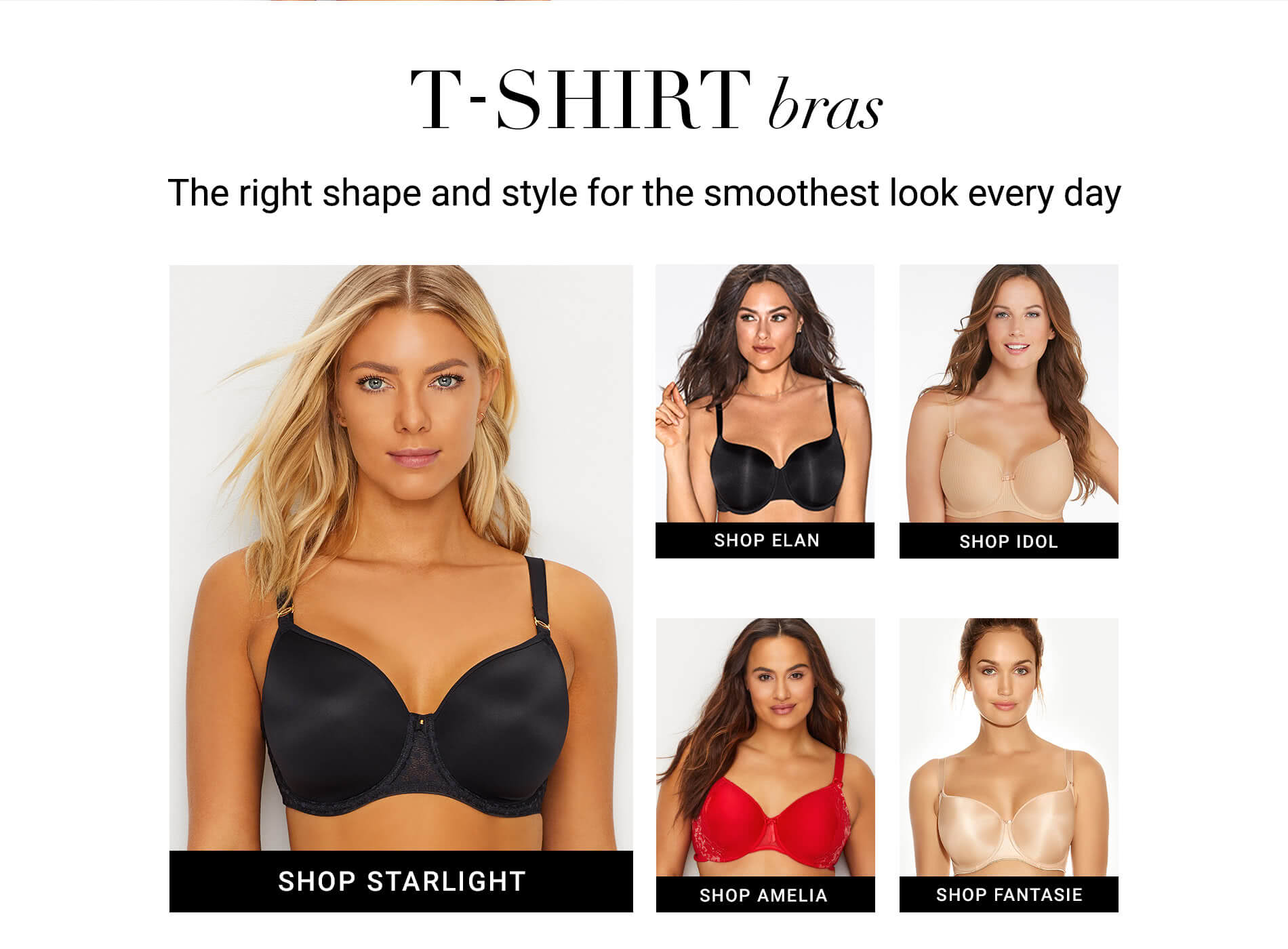 Shop DD+ T-Shirt Bras