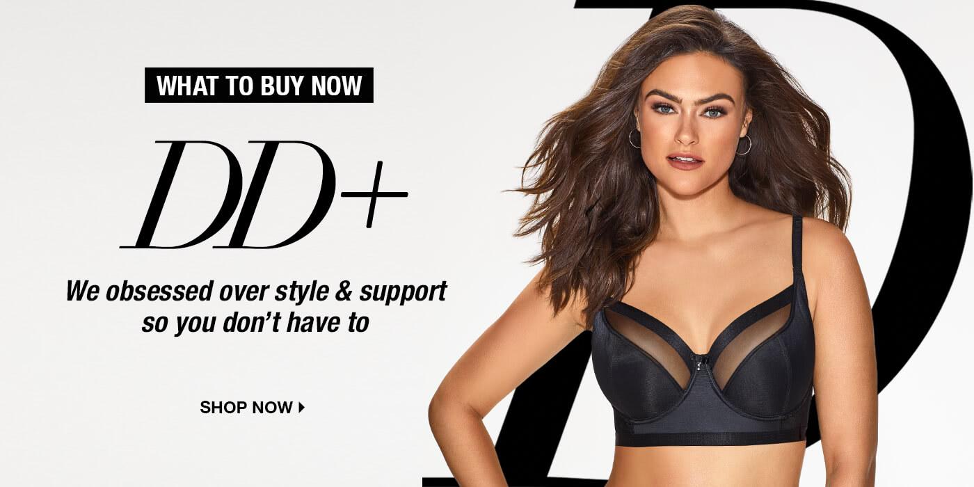 Shop DD+ Bra Styles