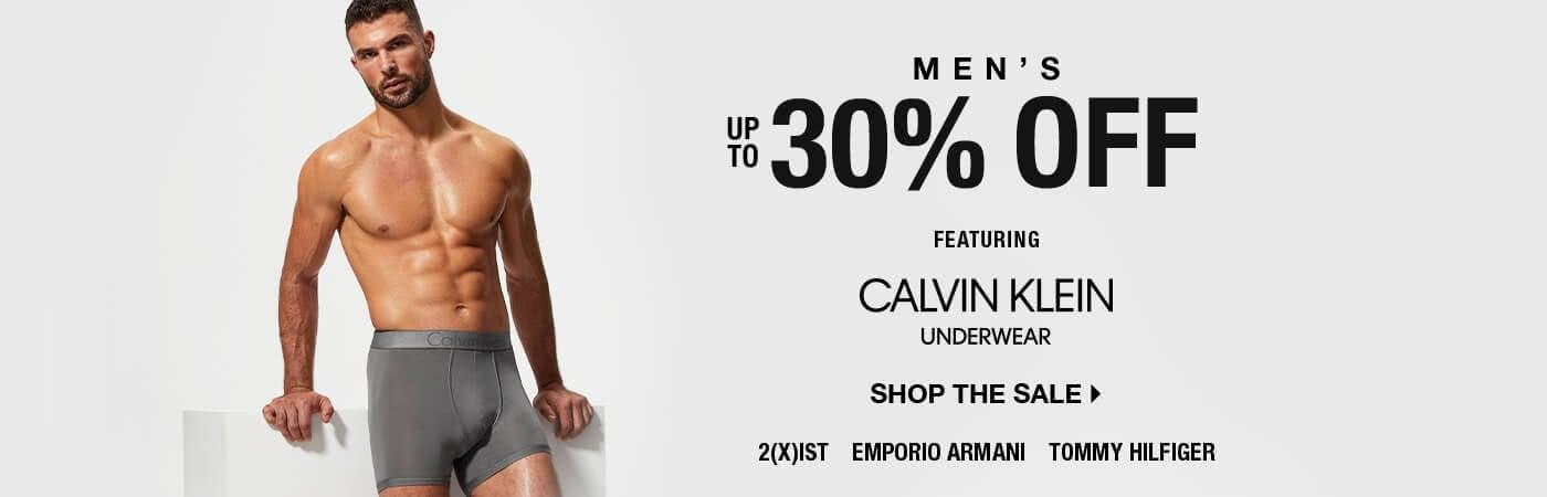 Men's Up To 30% Off