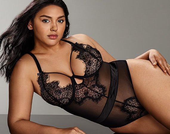 Sexy plus size nightwear