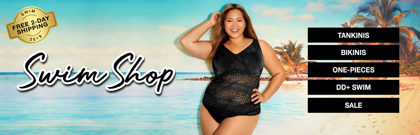 19aa19b6a6 Home; Plus Size Swimwear. Shop the best swimsuits and swimwear in top  styles from Bare Necessities