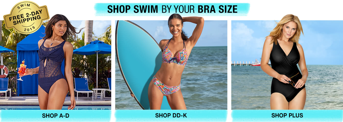 Shop Swimwear by Size