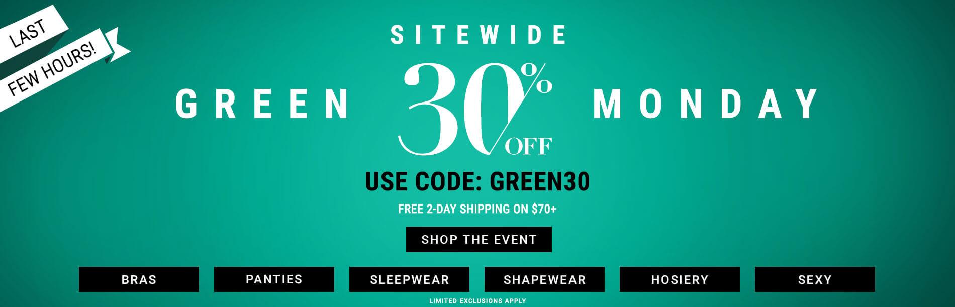 Shop Green Monday