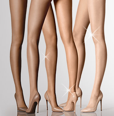 12 Denier Control Top Sheer pantyhose Stockings Hosiery Bikini Back Shaping