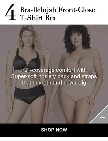 Shop Spanx bra-llelujah Front Close T-Shirt Bra Information