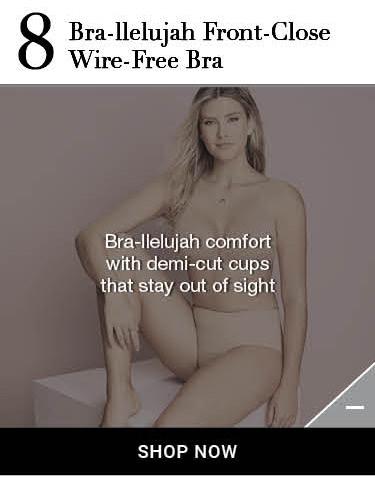 Shop Spanx bra-llelujah! Wire-Free Bra Information