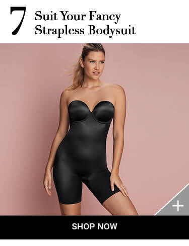 Shop Spanx Suit Your Fancy Strapless Bodysuit