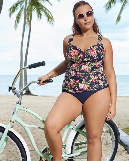 Hibiscus Bloom Swimwear Collection