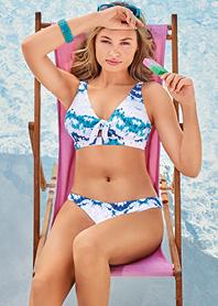Birdsong calypso Bikini Top