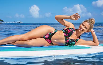 Birdsong Polynesian Bikini Top