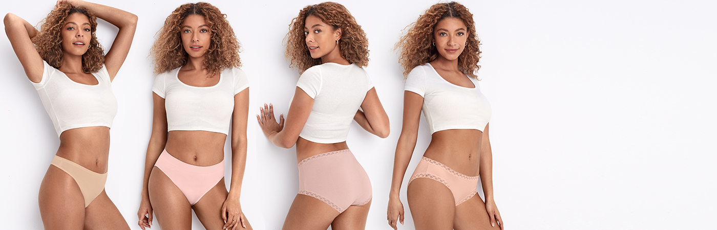 Shop Panties styles from Bare Necessities